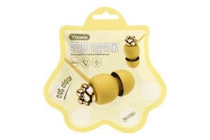 Навушники жовті YK1080 Yookie 1шт