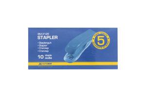 $Степлер пластиковый, 10л.,(скобы №10), черный