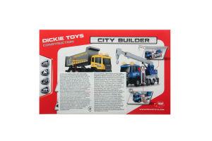 Іграшка для дітей від 3років City builder Construction Dickie Toys 1шт