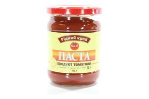 Паста томатная 15% Рідний край с/б 485г