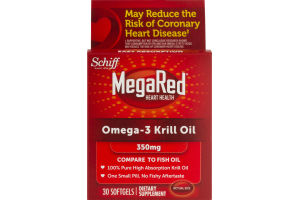 Schiff MegaRed Omega-3 Krill Oil - 30 CT
