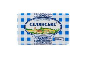 Масло 72.5% солодковершкове селянське Селянське м/у 200г