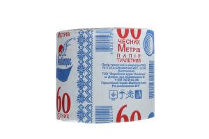 Бумага туалетная из макулатуры