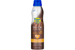 Banana Boat Dry Oil Continuous Spray Sunscreen With Argan Oil SPF 8