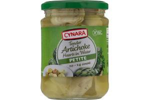 Cynara Artichoke Hearts in Water Petite - 10-14 CT