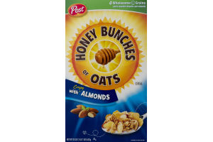 Post Honey Bunches of Oats Crispy with Almonds