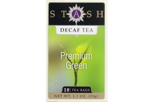 Stash Premium Green Decaf Tea Bags - 18 CT