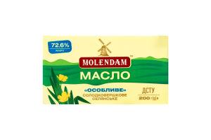 Масло 72.6% сладкосливочное крестьянское Особое Molendam м/у 200г