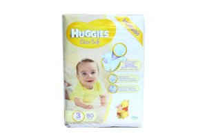 Підгузки Huggies Elite Soft 3 5-9кг 80шт