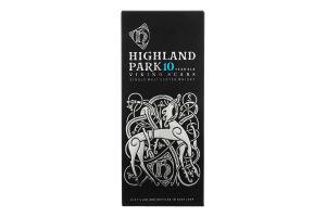 Виски 0.7л 40% Viking Scars 10 year old Highland park бут