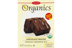 European Gourmet Bakery Organics Chocolate Frosted Organic Brownie Mix