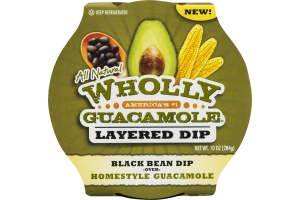 Wholly Guacamole Layered Dip Black Bean