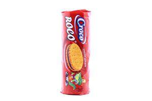 Печиво Croco Roco з шоколадним кремом 150г х23