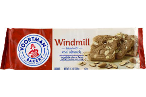 Voortman Bakery Windmill Baked With Real Almonds Cookies