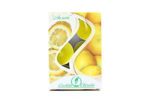 Свічка ароматизована Лимон 6шт