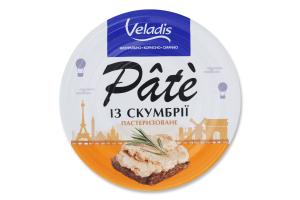 Пате пастеризоване із скумбрії Veladis з/б 100г