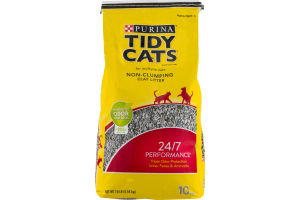 Tidy Cats Cat Litter For Multiple Cats Non-Clumping Clay Litter