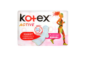 Критичні прокладки KTX Active (Single) Super 7x16 PUMA