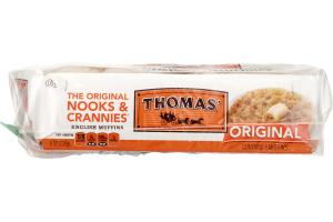 Thomas' English Muffins Original - 4 CT
