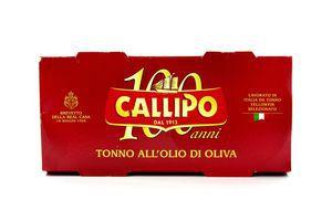Тунець Callipo у оливковій олії ж/б 2*160г х6