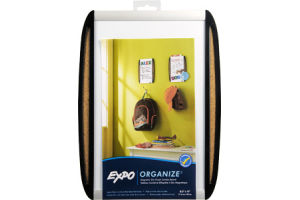 Expo Organize Magnetic Dry Erase Combo Board