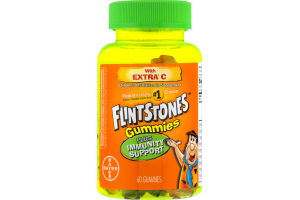 Flintstones Gummies Plus Immunity Support With Extra C - 60 CT