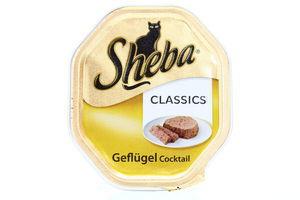 Корм Sheba Classics паштет з домашньою птицею 100г х32