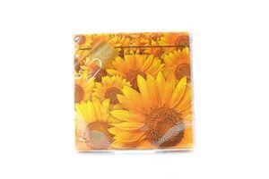 Серветки Luxy паперові Соняшникове поле 33*33см 20шт