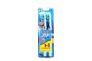 Зубная щетка 3D White Oral-B 1+1шт