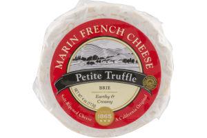 Marin French Cheese Petite Truffle Brie