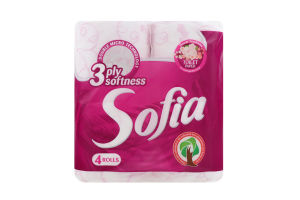 Бумага туалетная Sofia арома
