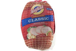 Hatfield Hardwood Smoked Boneless Dinner Ham Classic
