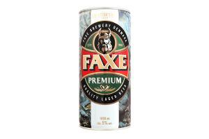 Пиво Faxe Premium з/б 1л х12