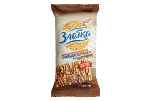 Грильяж рисовый Корица-капучино Златка Жайвір 28г