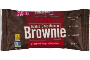 Nature's Bakery Double Chocolate Brownie Raspberry
