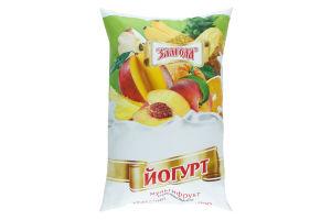 Йогурт Злагода Мультифрукт п/е н/ж 900г x16