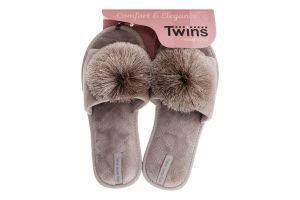 Капці відкриті домашні жіночі Twins №5613 36-40
