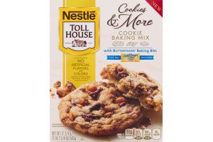 Nestle Toll House Cookies & More Cookie Baking Mix with Butterfinger Baking Bits