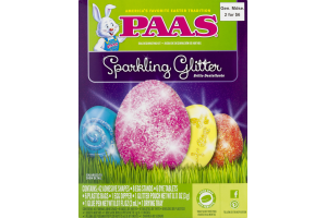PAAS Egg Decorating Kit Sparkling Glitter