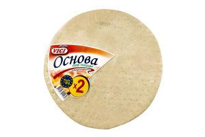 Основа для пиццы замороженная Vici м/у 2х160г