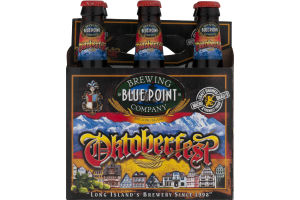 Blue Point Brewing Company Oktoberfest Bottles - 6 CT