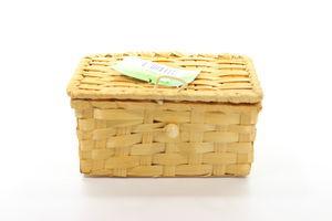 Коробка Екорамбус бамбук щільне плетіння 16*13*H8 компл.3шт