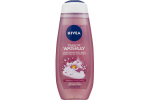Nivea Moisturizing Body Wash Touch of Waterlily