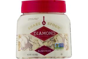 Diamond Shake & Spoon Sliced Almonds