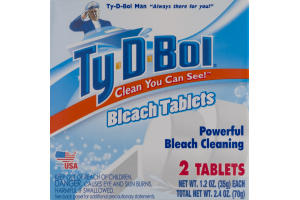 Ty-D-Bol Bleach Tablets - 2 CT