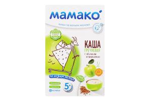 Каша гречневая на козьем молоке для детей от 5мес с яблоком и морковью Мамако к/у 200г