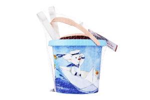 Набор для песка для детей от 12мес №39503 Морская прогулка Tigres 5эл