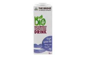 Напиток гречнево-рисовый The Bridge органический
