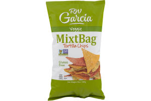 RW Garcia MixtBag Tortilla Chips Veggie