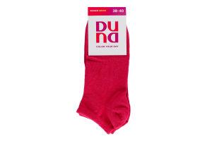 Шкарпетки жіночі Duna №12B-307 23-25 малиновий